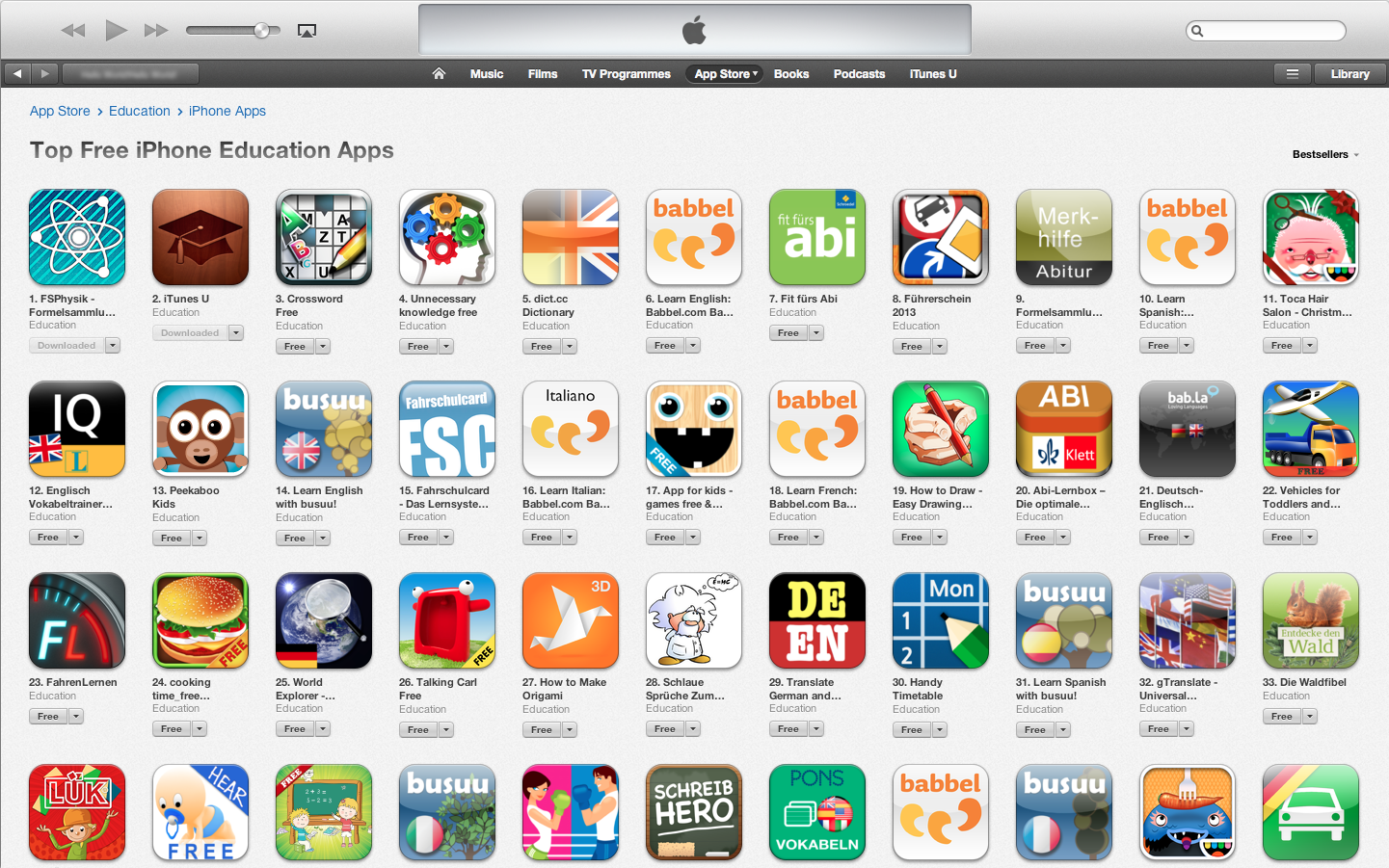 apps zum downloaden